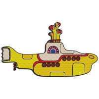 Beatles Patch Yellow Submarine Sparkle Gift