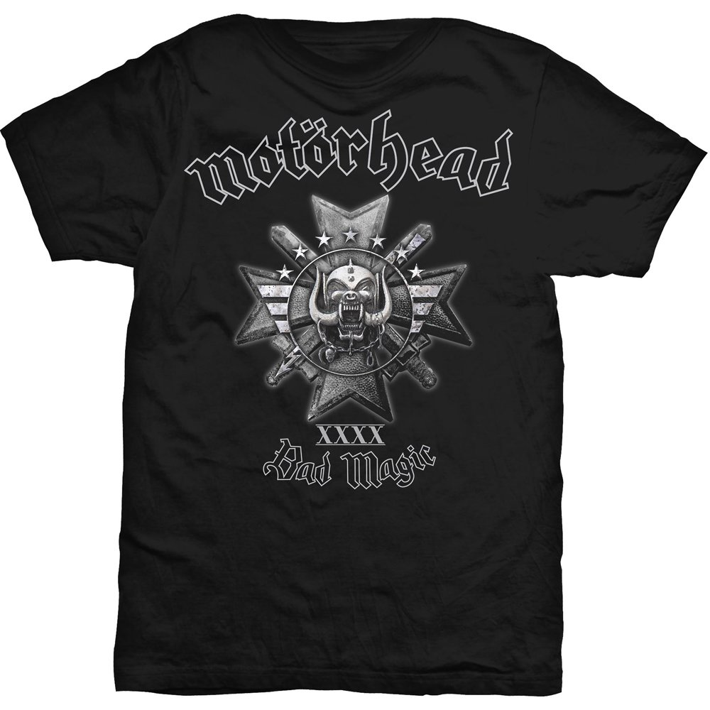 Motorhead T Shirt Bad Magic Mens Large Sparkle Gift