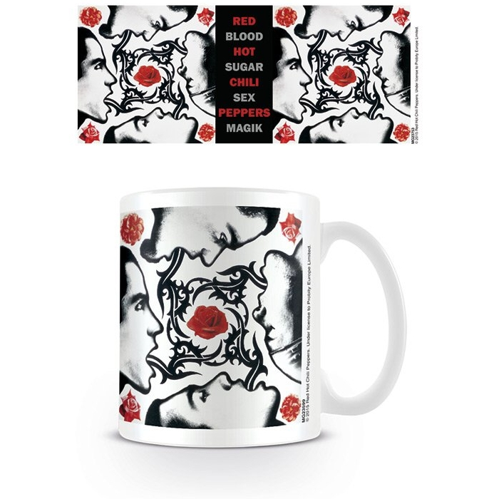 Red Hot Chili Peppers Boxed Mug Blood Sugar Cover Sparkle Gift