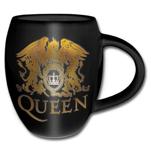 Queen Boxed Mug Gold Crest                                   Sparkle Gift