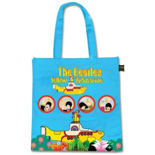 Beatles Eco Shopper Yellow Submarine Sparkle Gift
