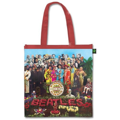 Beatles Eco Shopper Sgt Pepper Sparkle Gift