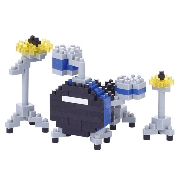 Nanoblock Drum Set Sparkle Gift