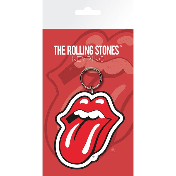 Rolling Stones Keyring Lips                                  Sparkle Gift