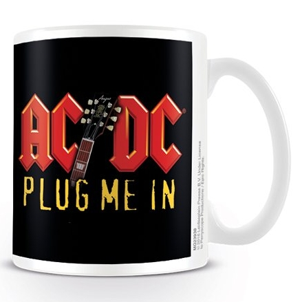 AC/DC  Boxed Mug Plug Me In Sparkle Gift