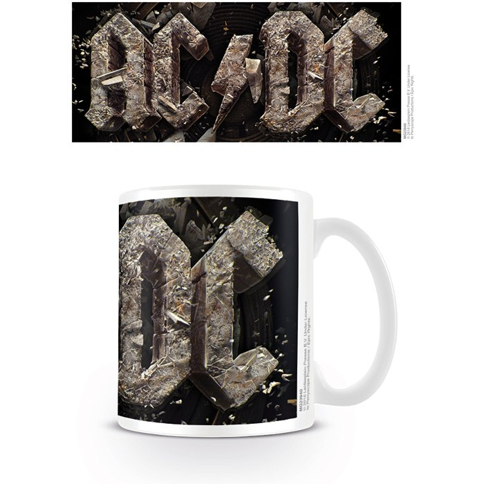 AC/DC  Boxed Mug Rock Or Bust Sparkle Gift