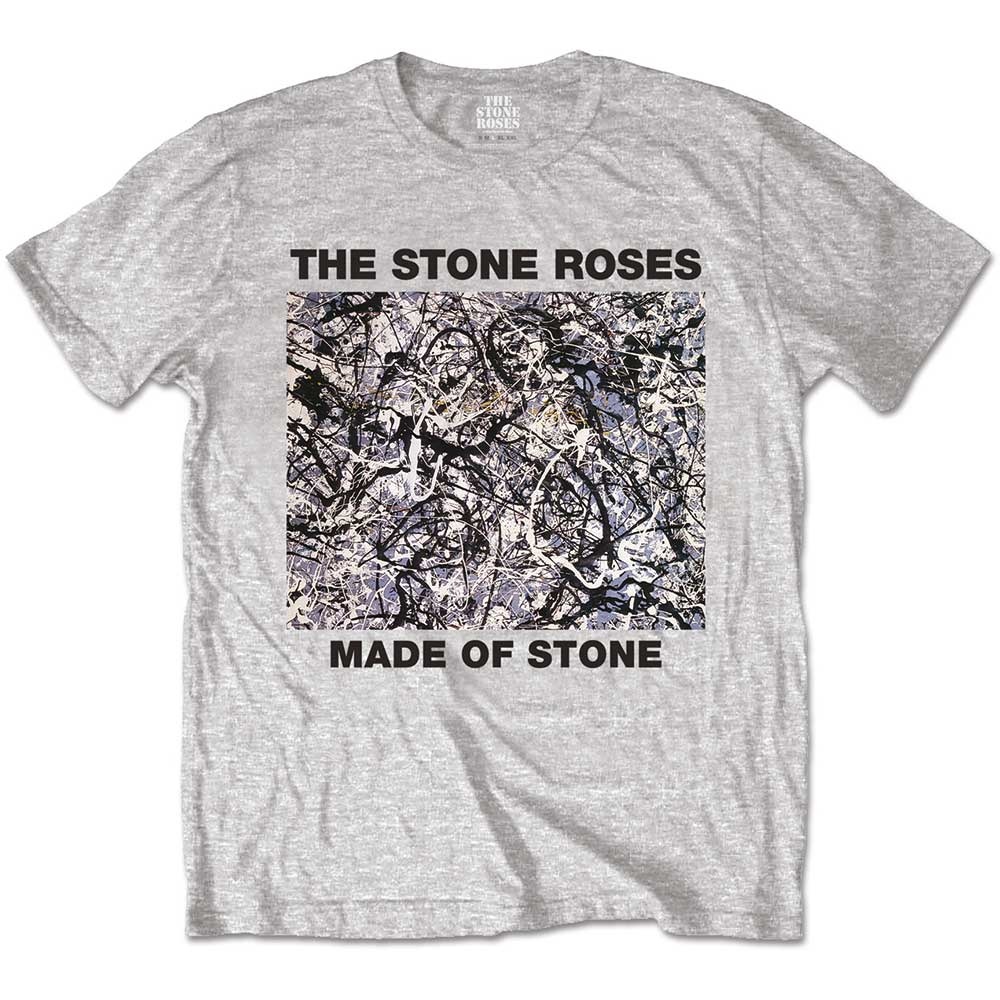 Stone Roses T Shirt Made of Stone Mens Large Sparkle Gift