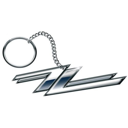Zz Top Keyring Twin Zs Sparkle Gift
