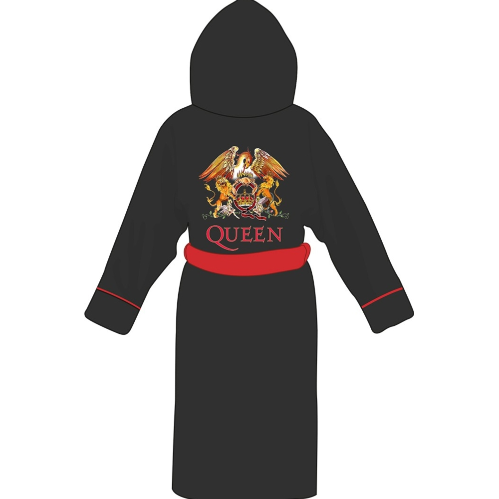 Queen Bathrobe Crest Adult One Size Sparkle Gift