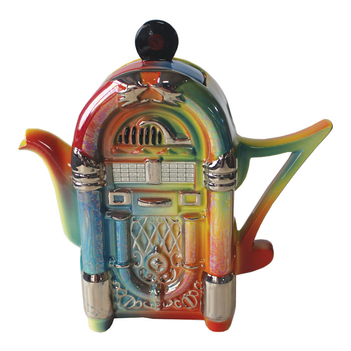 Teapot Jukebox Sparkle Gift