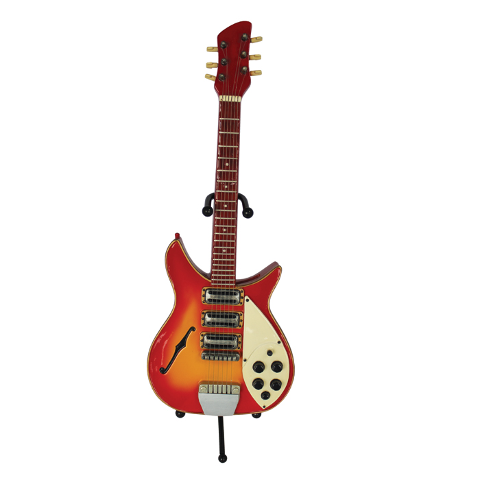 Money Box Guitar Rock Red Sparkle Gift