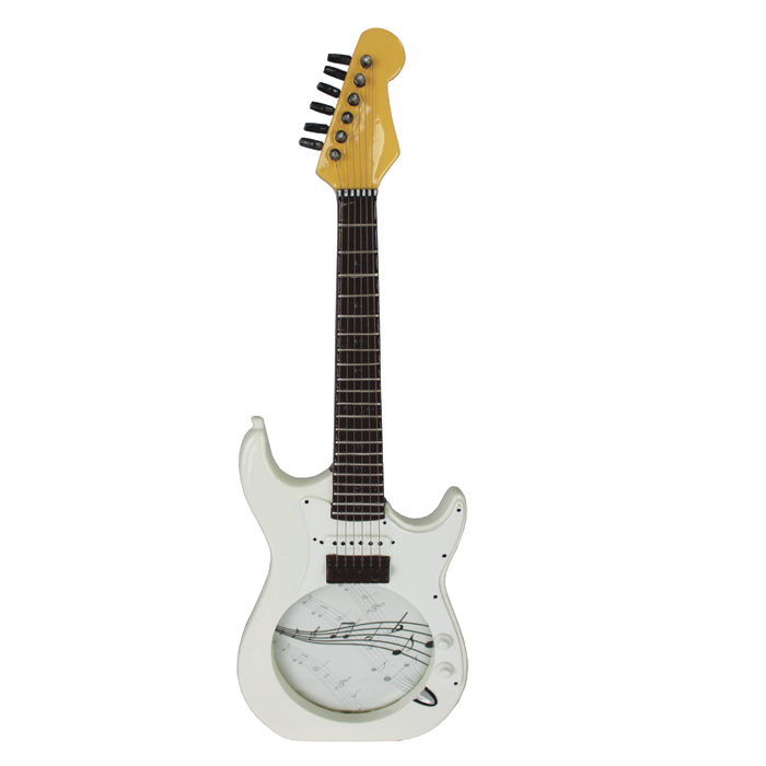 Guitar Photo Frame Electric White Sparkle Gift
