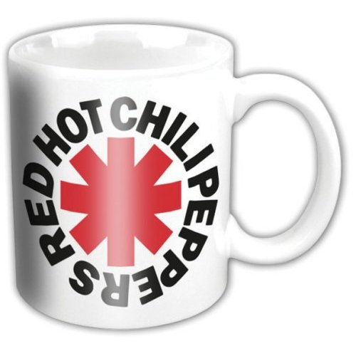 Red Hot Chili Peppers Boxed Mug Asterisk Sparkle Gift