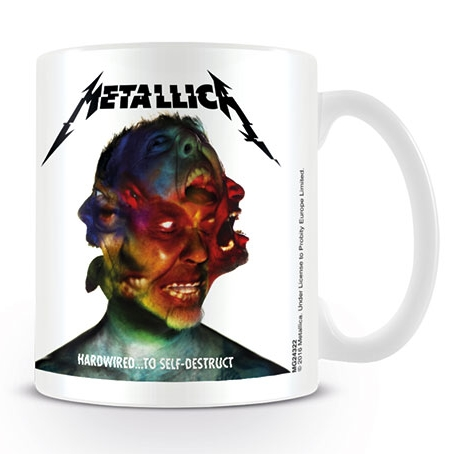 Metallica Boxed Mug Hardwired... To Self-destruct Sparkle Gift