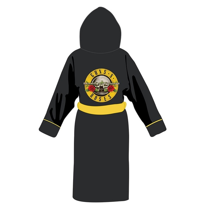 Guns N Roses Bathrobe Logo Sparkle Gift