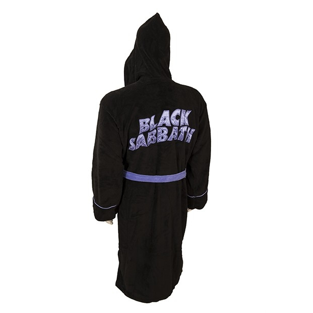 Black Sabbath Bathrobe Master of Reality One Size Sparkle Gift
