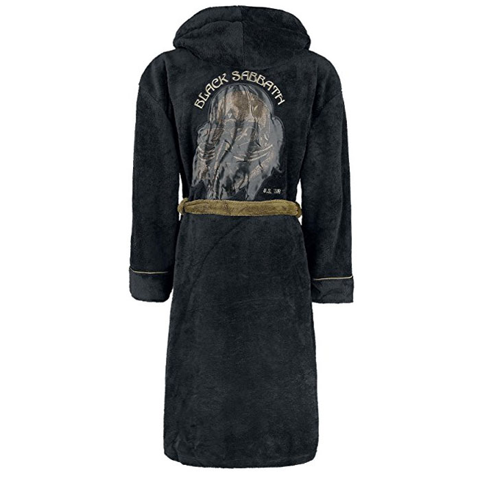 Black Sabbath Bathrobe 78 Tour One Size Sparkle Gift