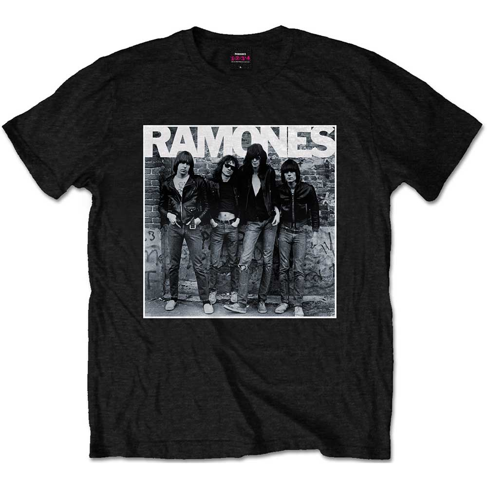 Ramones T Shirt 1st Album Mens Small Sparkle Gift