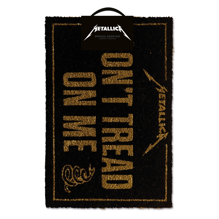 Metallica Doormat Dont Tread On Me Sparkle Gift
