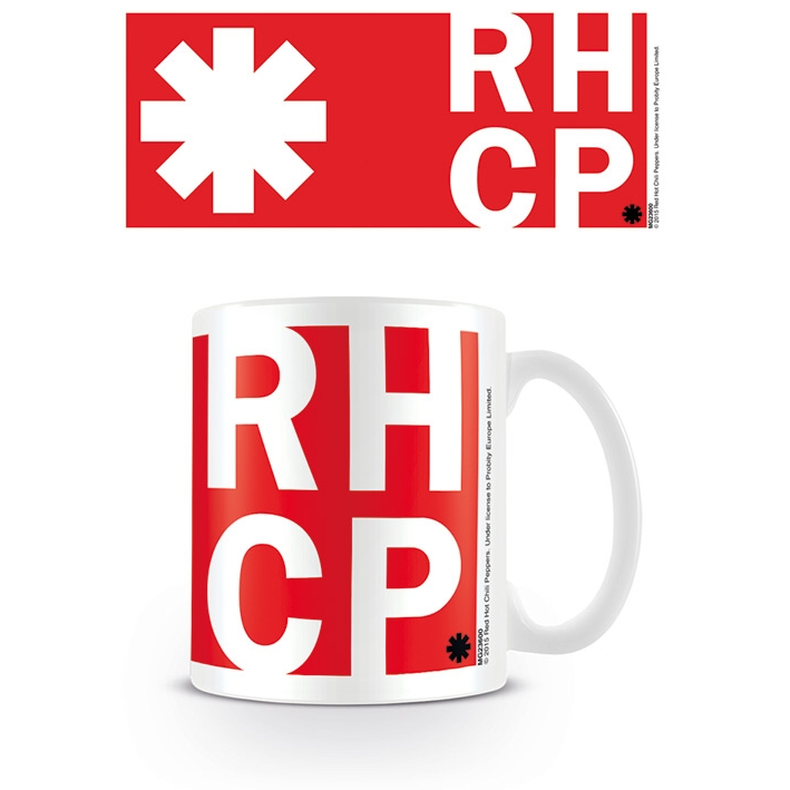 Red Hot Chili Peppers Boxed Mug Rhcp Sparkle Gift