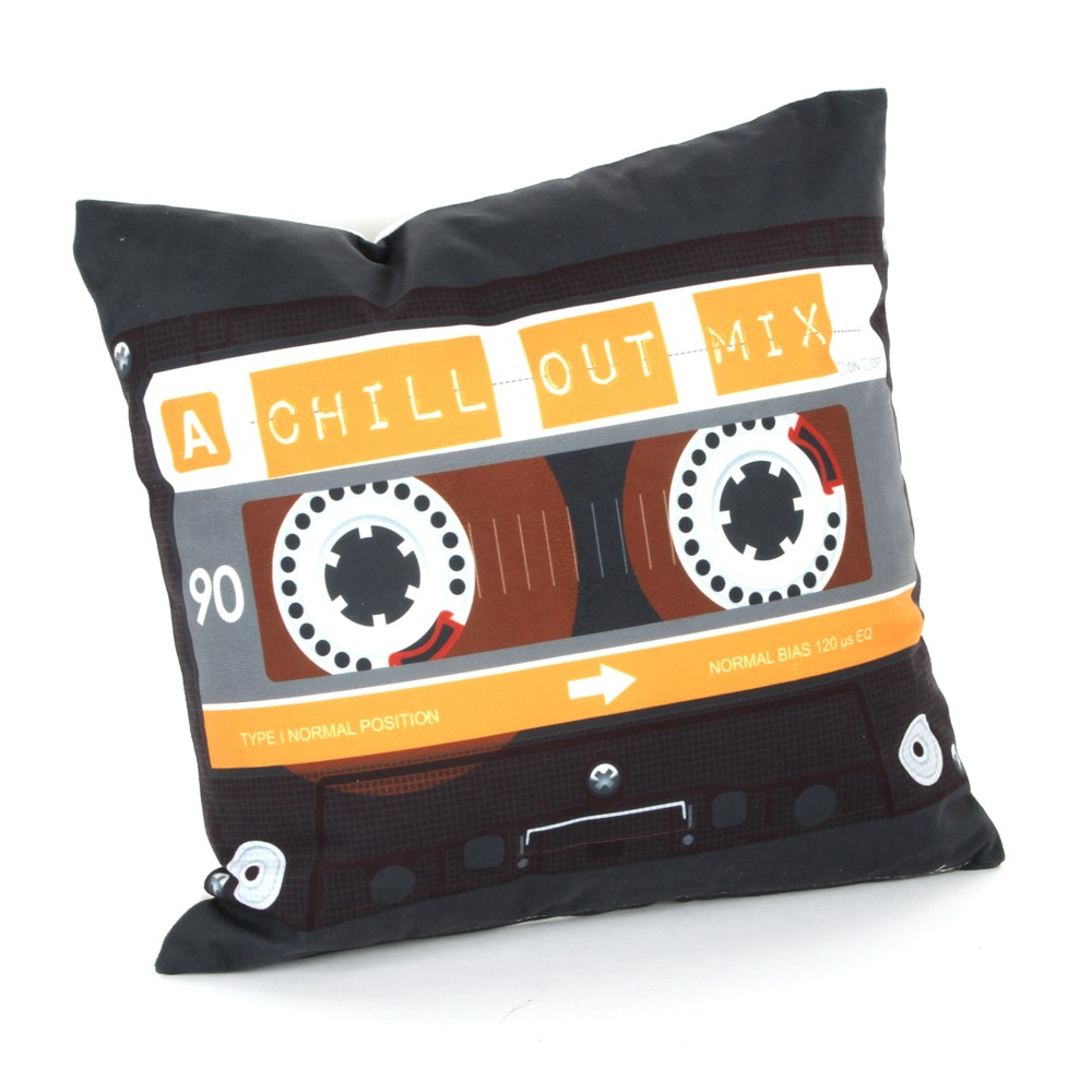 Musicology Cushion Cassette Sparkle Gift