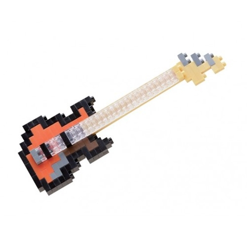 Nanoblock Electric Bass Guitar Sparkle Gift