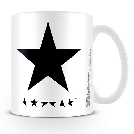David Bowie Boxed Mug Blackstar Sheet Music