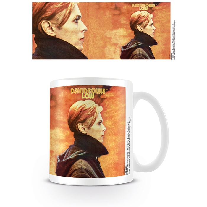 David Bowie Boxed Mug Low Cover & Detail Sparkle Gift