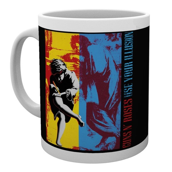 Guns N Roses Boxed Mug Use Your Illusion Sparkle Gift