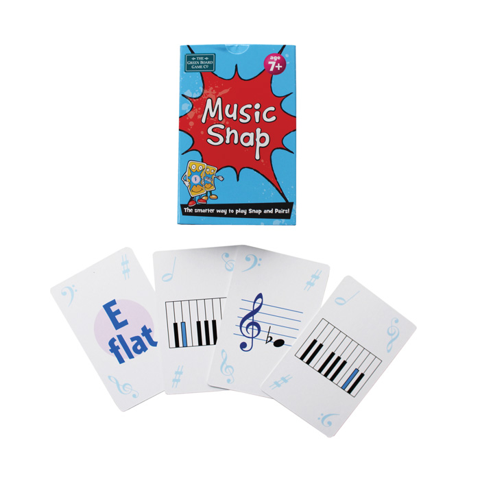Music Playing Cards Music Snap Sparkle Gift