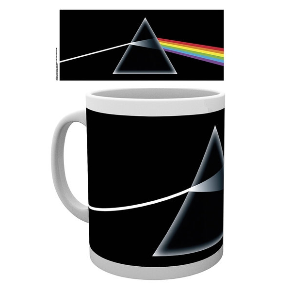 Pink Floyd Boxed Mug Dark Side of The Moon 10oz Sparkle Gift