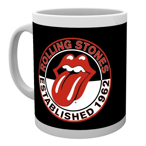 Rolling Stones Boxed Mug Established 1962 10oz Sparkle Gift