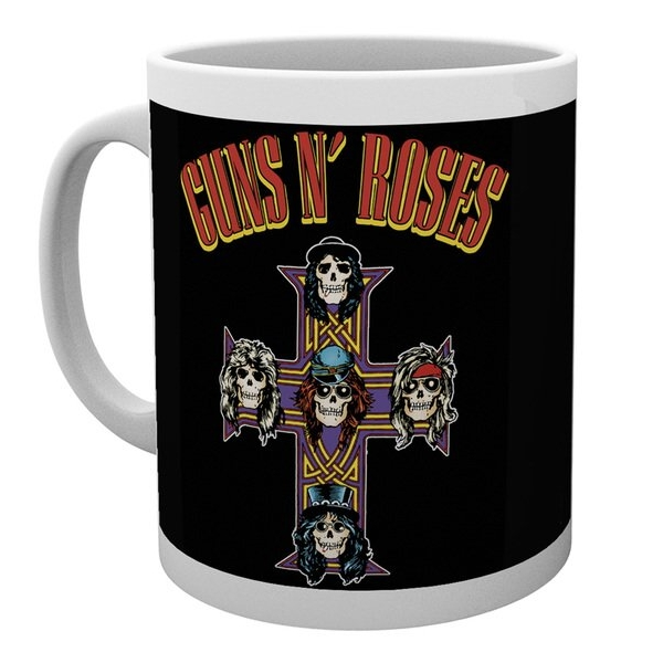 Guns N Roses Boxed Mug Appetite For Destruction 10 Sparkle Gift