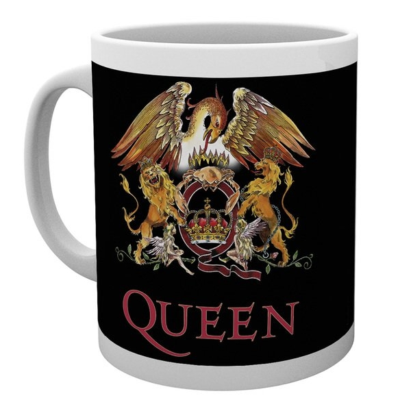 Queen Boxed Mug Classic Crest 10oz                           Sparkle Gift