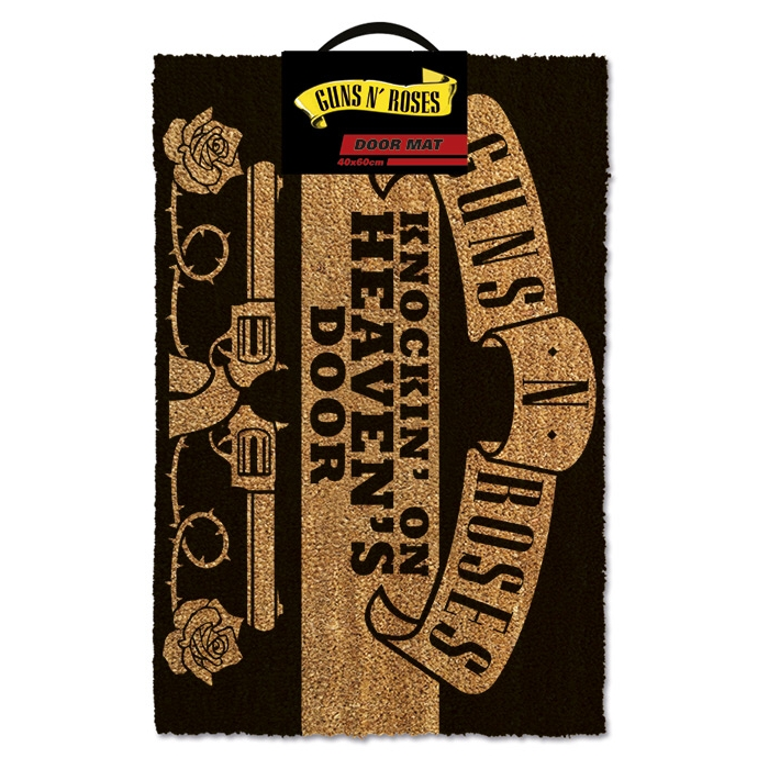 Guns N Roses Doormat Knockin On Heavens Door               Sprakle Gifts