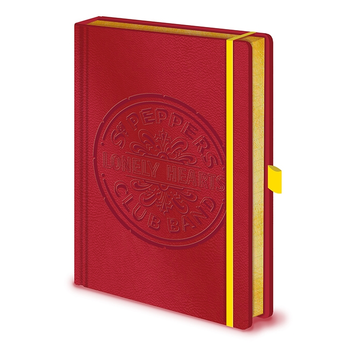 Beatles Premium A5 Notebook Sgt. Pepper Sparkle Gift
