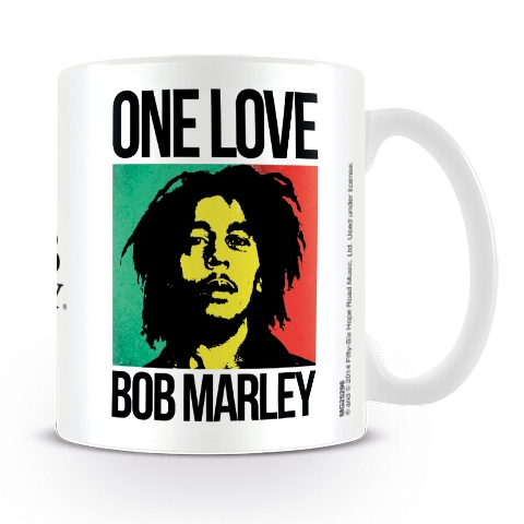 Bob Marley Boxed Mug One Love Sparkle Gift