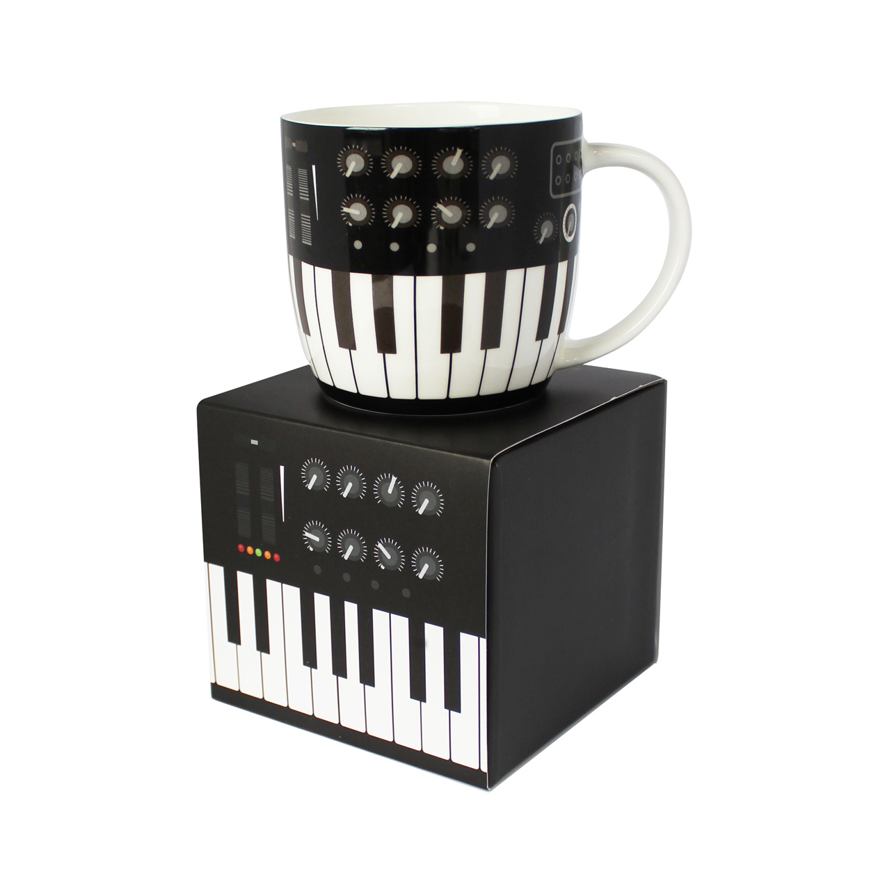 Rock Club  Boxed Mug Synthesizer Sparkle Gift