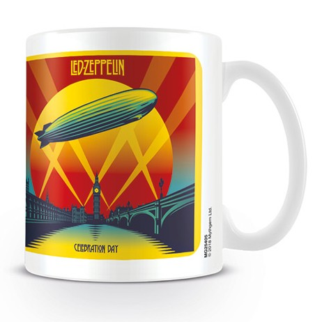Led Zeppelin Boxed Mug Celebration Day Sparkle Gift