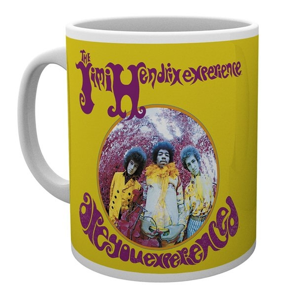 Jimi Hendrix Boxed Mug Are You Experienced Sparkle Gift