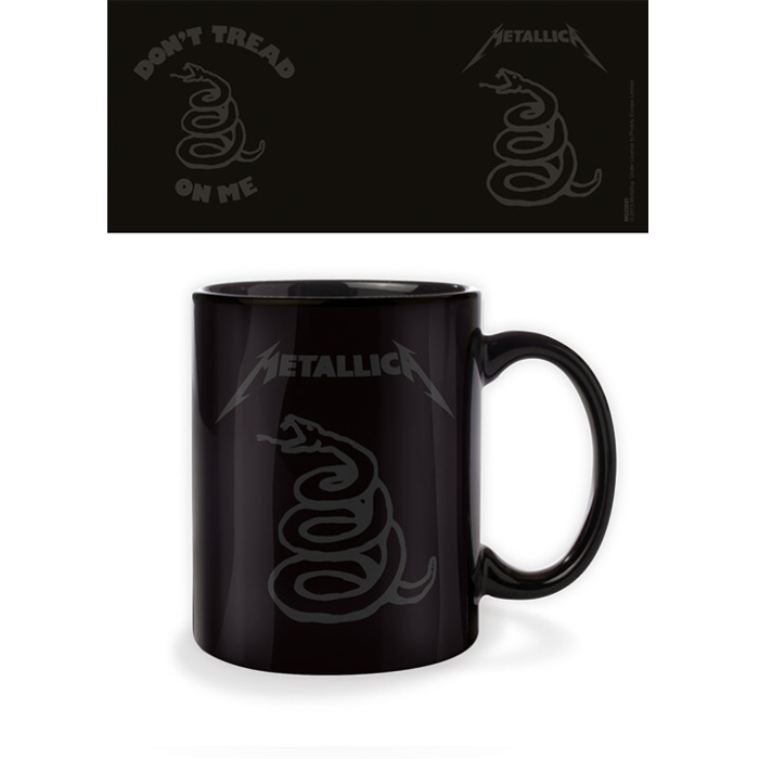 Metallica Boxed Mug Dont Tread On Me Sparkle Gift