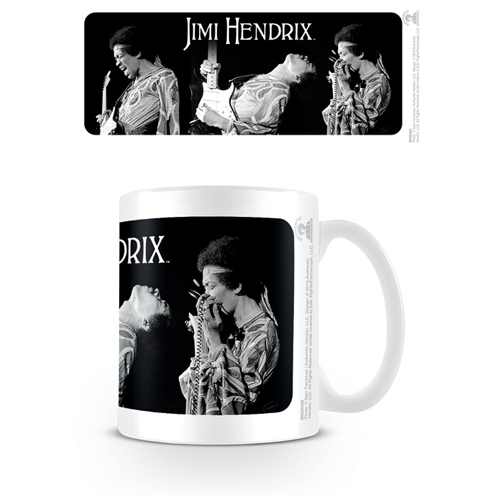 Jimi Hendrix Boxed Mug Triptych Sparkle Gift