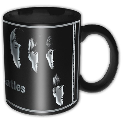 Beatles Boxed Mug With The Beatles Black Sparkle Gift