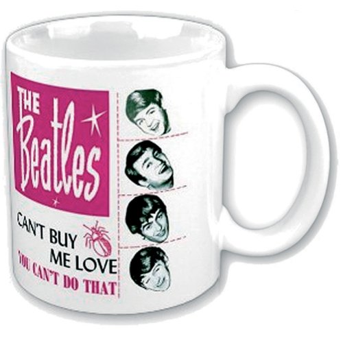 Beatles Boxed Mug Cant Buy Me Love Sparkle Gift