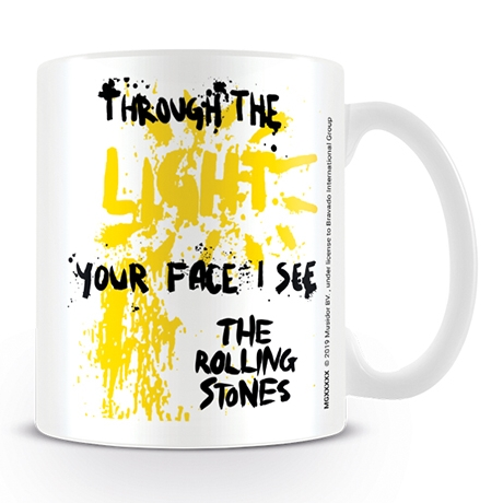 Rolling Stones Boxed Mug Through The Light Sparkle Gift