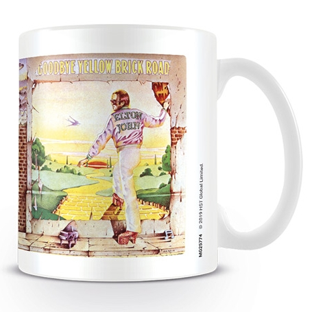 Elton John Boxed Mug Goodbye Yellow Brick Road               Sprakle Gifts