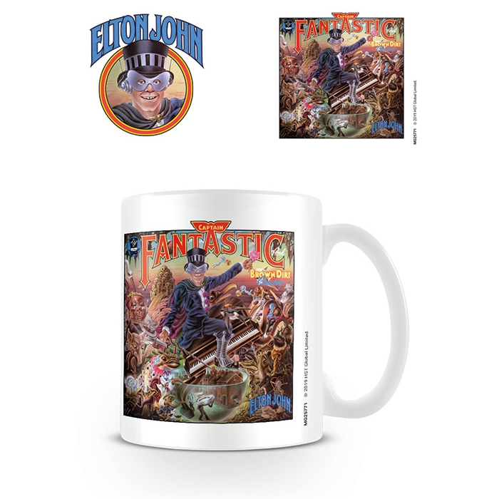 Elton John Boxed Mug Captain Fantastic                       Sprakle Gifts