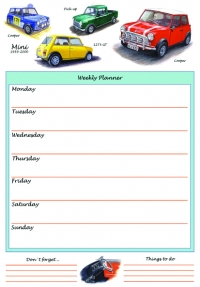 Weekly Planner Mini 1959-2000 A4 Sparkle Gift