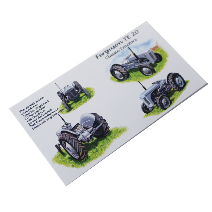 Gift Tags Ferguson Te20 Tractor X 12                         Sparkle Gift