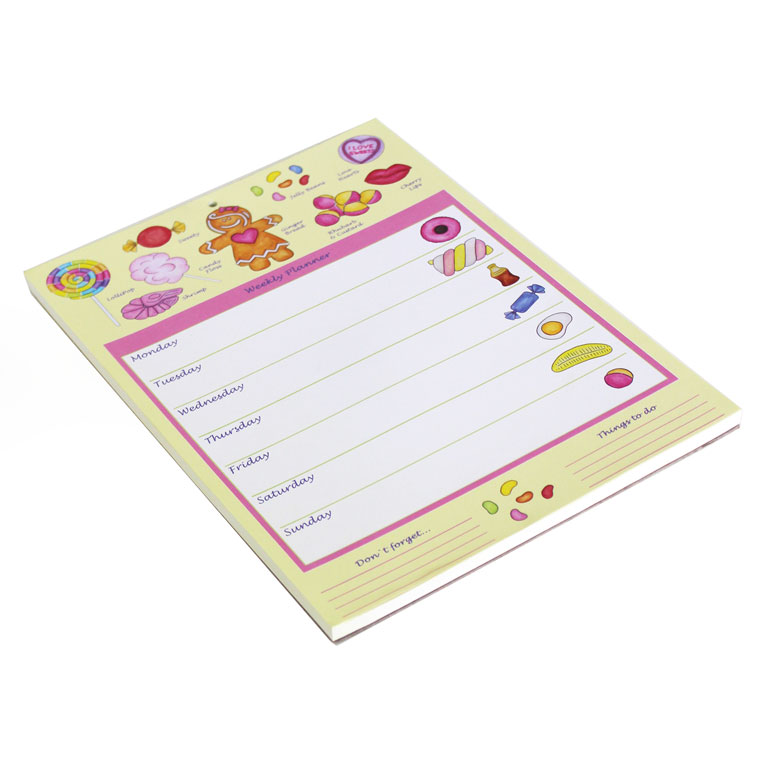 Weekly Planner Rebecca Rose Gingerbread Woman Sparkle Gift